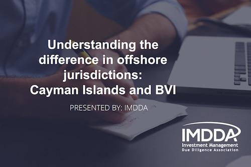 Offshore Jurisdiction Workshop